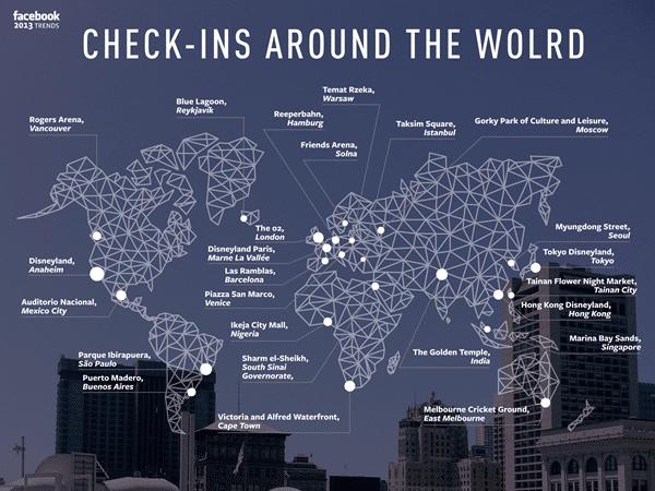 צק אין בעולם פייסבוק 2013