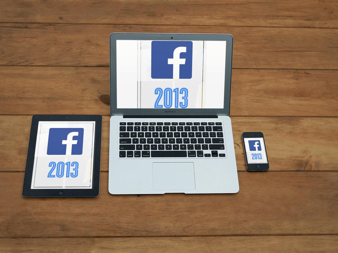 פייסבוק 2013 – סקירה של שנה
