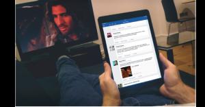 פייסבוק במרכז המהפכה הסלולרית