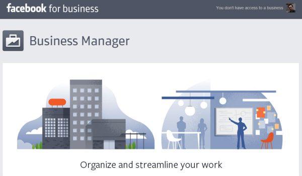 פייסבוק משיקים בשקט מקום אחד להתנהלות של עסקים גדולים