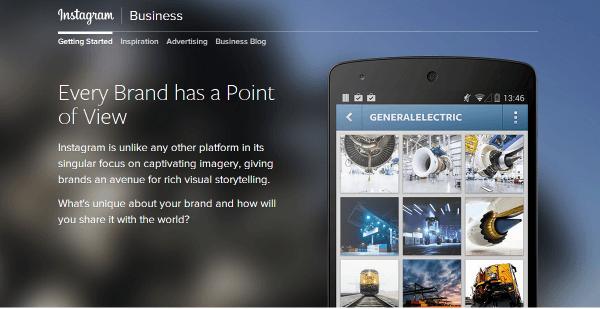אינסטגרם משיקים אתר ייעודי לעסקים