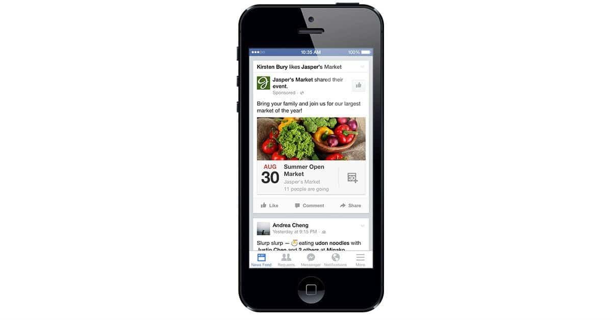 פייסבוק משדרגים את כלי האירועים והחיפוש בפייסבוק
