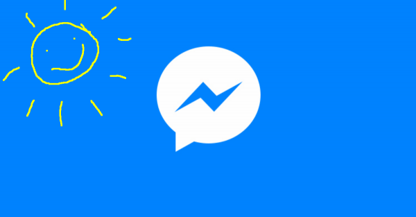פייסבוק מאפשרים לכם לצייר על תמונות במסנג'ר