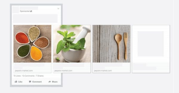 מודעות מולטי-פרודקט של פייסבוק עכשיו גם באדס מנג'ר ועוד שינויים