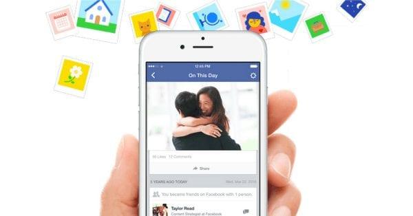 """פייסבוק משיקים את """"ביום הזה"""": דרך חדשה להיזכר בתמונות ואירועים מהעבר"""