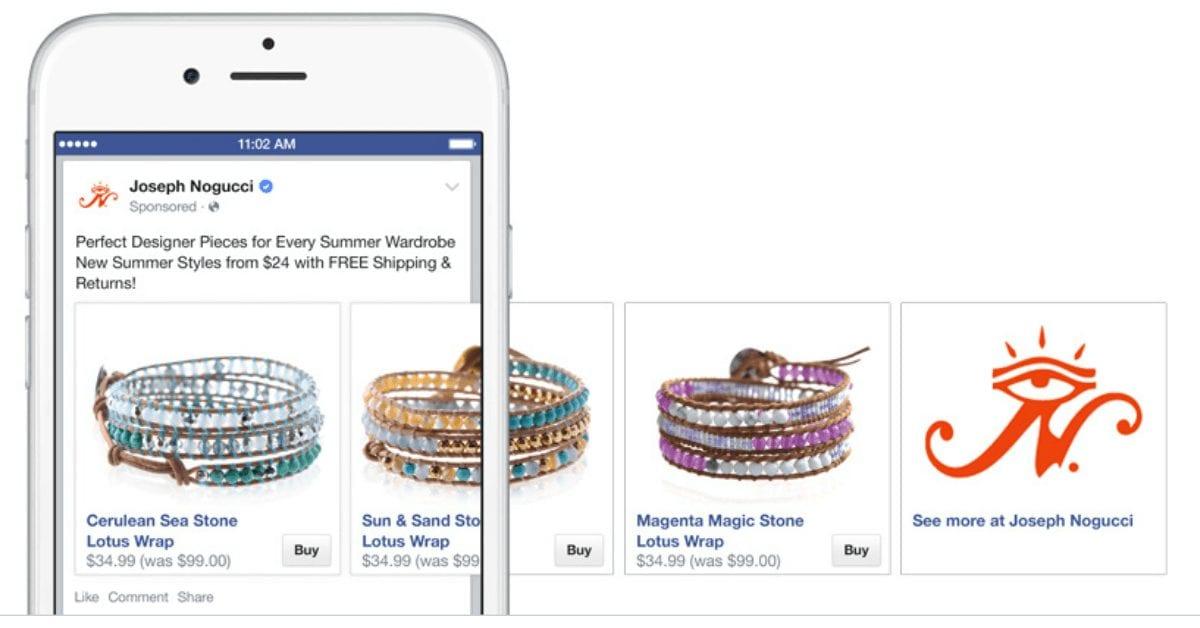 פייסבוק ו Shopify מודיעים על הרחבת הבטא לכפתור ה Buy